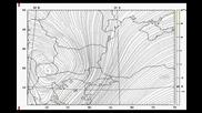 Meteos 1.0 - примерни метеорологични карти