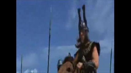 Conan The Barbarian - Arnie Prays To Crom