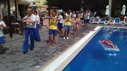 iberostar sunny beach resort клубния танц {шерифа} 2013
