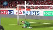 За малко да стане перфектния гол... Fifa 2010