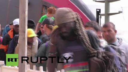 Германия: Влак с бежанци от Австрия пристигна в Пасау при засилен граничен контрол