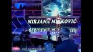 Mirjana Mirkovic - Sa bilo kim (Zvezde Granda 2010_2011 - Emisija 2 - 09.10.2010)