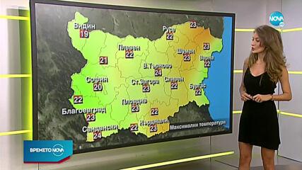 Прогноза за времето (22.10.2020 - сутрешна)