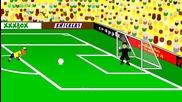 Анимации за световното: Бразилия 1 - 1 Чили (3-2 след дузпи)