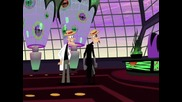 Phineas And Ferb - The Movie 2011 Dvd Duel - Bg Audio / Финиъс и Фърб - Второто Измерение Бг Аудио!!
