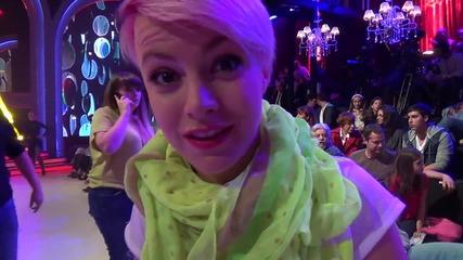 Dancing Stars - Поли Генова подкрепя Михаела и Светльо (03.06.2014г.)