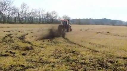 Дрифт трактор - голям смях