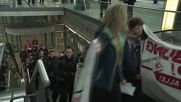 Germany: Pro-refugee protesters decry deportations at Leipzig airport