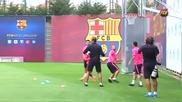Messi ,Neymar and Mascherano