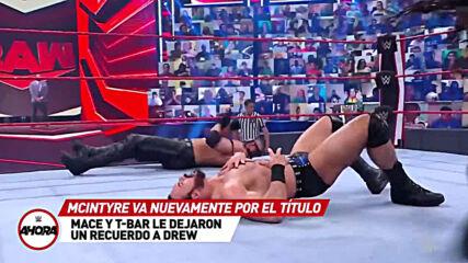 REVIVE Raw en 8 (MINUTOS): WWE Ahora, Abr 12, 2021