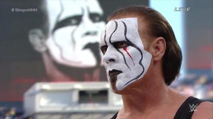 Wwe Wrestlemania 31 Triple H vs Sting