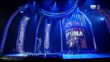 Hyuna ft. Zico - Just Follow ~ M!countdown (11.08.11)