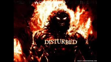 disturbed-glass shatters