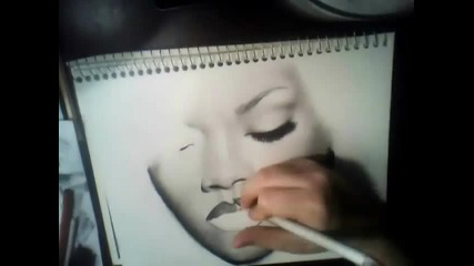 Rihanna Drawing - California King Bed - Jennifer Nettles Academy of Country Music Awards Acm Live
