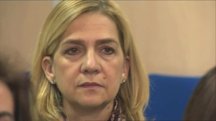 Spain: Princess Cristina stands trial in historic tax fraud case