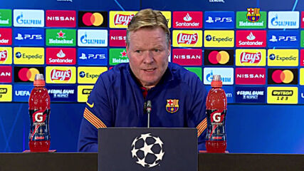 Spain: Messi and Jong to skip clash with Dinamo Kyiv - coach Koeman