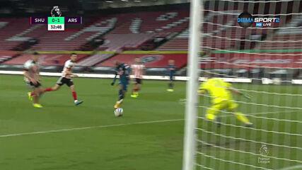 Шефилд - Арсенал 0:1 /първо полувреме/