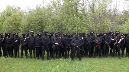 Черноризници от Харков 01.05.2014