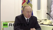 Russia: Putin talks Omsk tragedy and modernisation of military arsenal