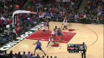 Чикаго Булс 103:87 Голдън Стейт Уориърс (25-01-2013 г.)
