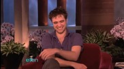 Robert Pattinson's Unedited Interview