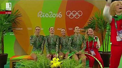 Златните момичета спечелиха олимпийски бронзов медал за България - Рио 2016