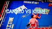 Amir Khan knocked out by Canelo Alvarez in Round 6