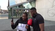 'It helps with girls!' - Anthony Joshua lookalike has fans fooled in London