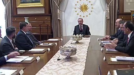 Turkey: US Senator Lindsey Graham meets with Erdogan in Ankara