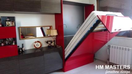 Мебелна композиция от mdf гланц, от hm-masters.com