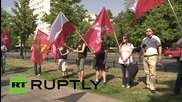 Poland: Poles protest US imperialism on 70th anniversary of Hiroshima bombing