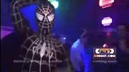 Спайдермен се раздава в дискотека ;d