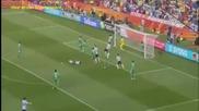 Аржентина 1 - 0 Нигерия Световно първенство по футбол 2010 12.06.2010