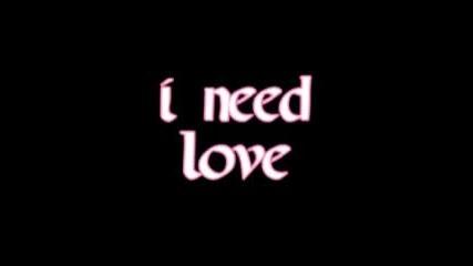 Plan B - I Need Love (+ текст)