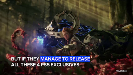 PS5 will have more exclusive games than ever in 2021