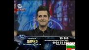 Дарко изпълнява песен на Тоше Проески High Quality Music Idol