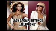[превод] Lady Gaga ft. Beyonce - Telephone + Bg Prevod