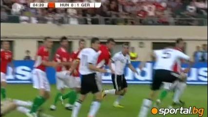 Унгария - Германия 0:3 ( 1 - вият гол)