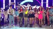 Today's Winner - Tts (twinkle) ~ Music Bank (18.05.2012)