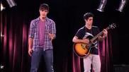 Violetta : Tomas y Leon cantan Verte de lejos