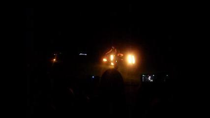огнено шоу - трик