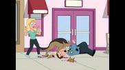 Family Guy - Браян Отвързва Непознато Куче