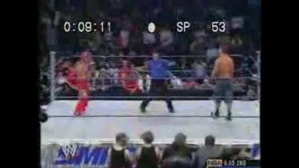 John Cena vs Rey Mysterio Battle Rap