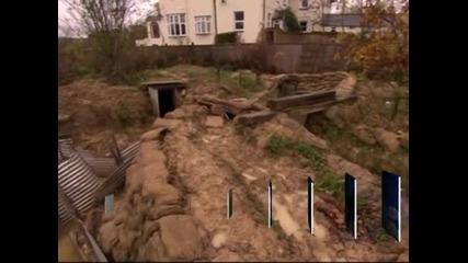 Бивш учител по история изкопа 18-метров окоп в градината си