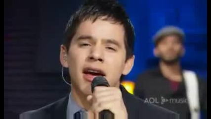 David Archuleta - My hands