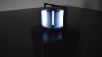 3 D светлинни скулптури от плосък екран