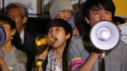 Japan: Students protest against Shinzo Abe and 'militarisation' laws in Tokyo