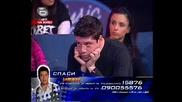 Теодор Койчинов защитава Иван минути преди да отпадне от music idol - 09.04.08 Hq