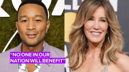 John Legend doesn't think Felicity Huffman should go to jail