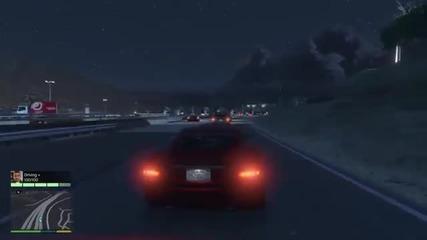 Grand Theft Auto V #1 блъснах Бамби